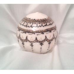 Glob cu decor henna tip 1