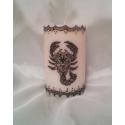 Lumanare zodiac Scorpion